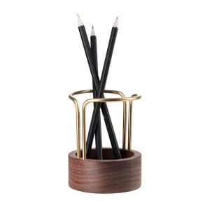 dot aarhus blyantholder pen up penholder valnød