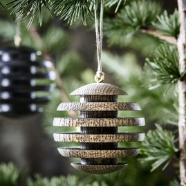 The Oak Men - Santas Balls - Julekugle - Røget eg