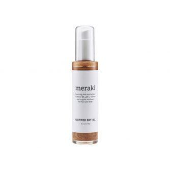 Meraki kropsolie Shimmer dry oil, Meraki