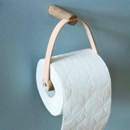 by Wirth toiletpapirholder træ