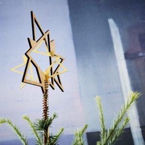 Topstjerne til juletræ The Oak Men