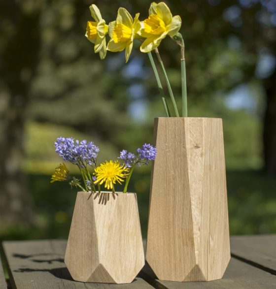 Heldal Design - KANT Trævase - Mors dag gaver