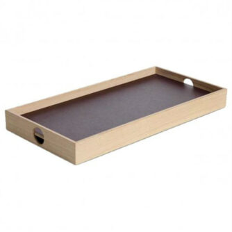 Flip Tray lille bakke i burgundy og champagne fra The Oak Men