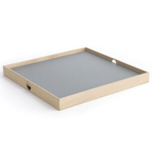 Flip Tray bakke i orange og grå 40 x 40 cm fra The Oak Men