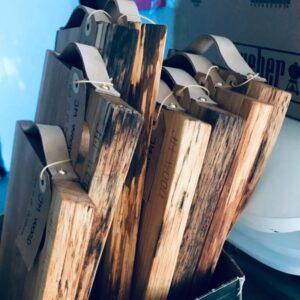 Tapasbræt i olieret egetræ fra JM Wood