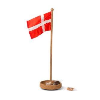 Bordflag i træ med dansk flag fra Spring Copenhagen