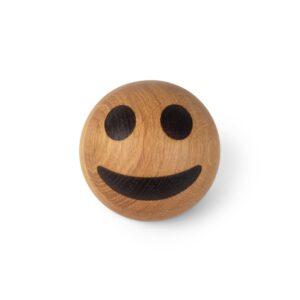 Smiley emoji i egetræ fra Spring Copenhagen