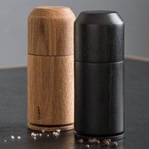 Crush Me sort peberkværn med keramisk kværn fra by Wirth
