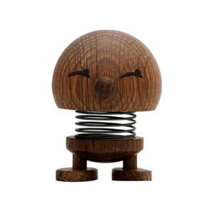 Hoptimist Bimble i røget egetræ lille på 7 cm