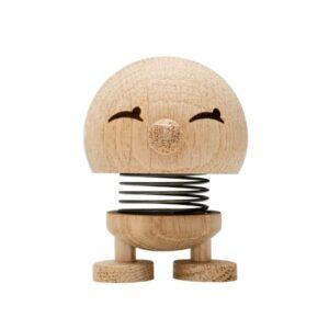 Hoptimist Bimble i ubehandlet egetræ lille på 7 cm