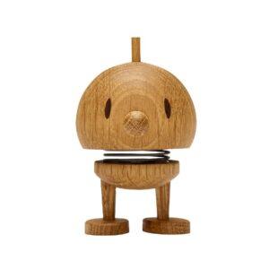 Hoptimist Bumble i egetræ lille på 7 cm