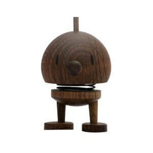 Hoptimist Bumble i røget egetræ lille på 7 cm