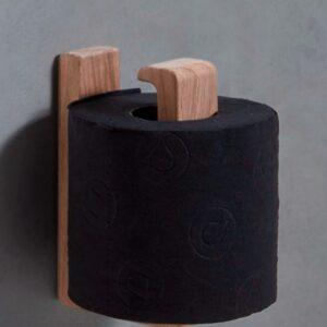Toiletrulleholder i egetræ fra Andersen Furniture