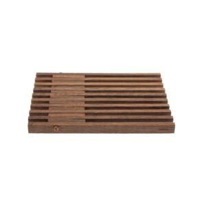 Table Frame bordskåner i røget egetræ fra by Wirth
