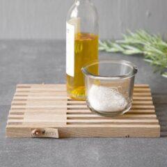 Table Frame bordskåner i sæbebehandlet egetræ fra by Wirth
