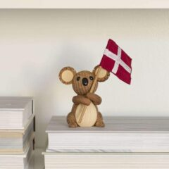 Koala Matilda med flag fra Spring Copenhagen